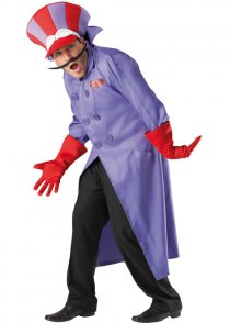 Adult Size Wacky Races Dick Dastardly Costume