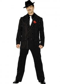 Adult Mens 20's Zoot Suit Gangster Costume