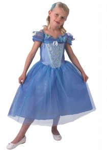Childrens Disney Live Action Cinderella Costume