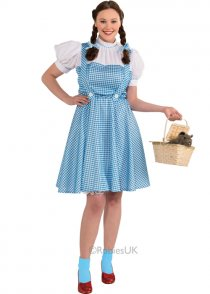 Womens Plus Size Dorothy Costume