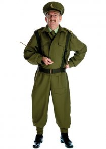 Adult 1940's British Home Guard Officer Costume