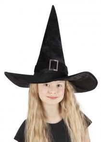 Childrens Size Deluxe Witch Hat