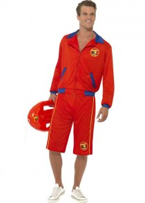 Adult Size Mens Baywatch Costume