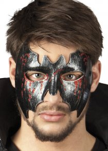 Mens Halloween Bloody Bat Eyemask