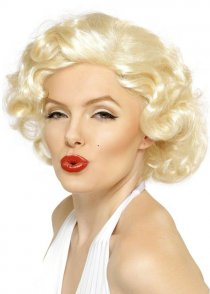Blonde Curly Bombshell Marilyn Monroe Wig