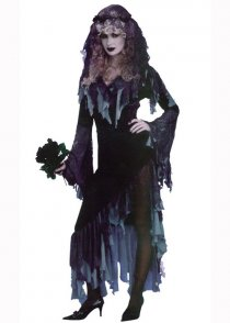 Adult Size Gothic Corpse Zombie Bride Costume