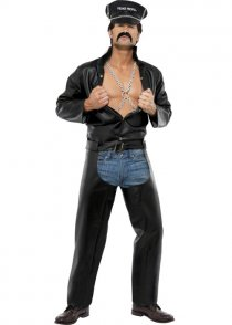 Adult Size The Village People Biker Costume