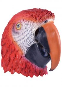 Adult Deluxe Parrot Mask