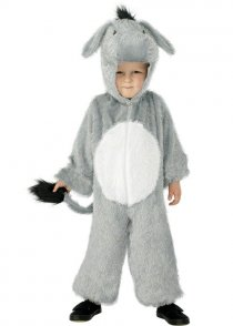 Childs Size Grey Donkey Fancy Dress Costume