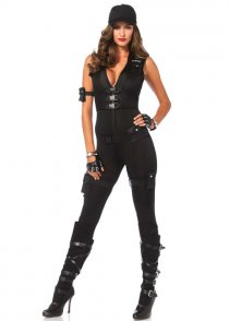 Womens Deluxe SWAT Commader Costume