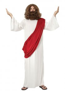 Adult Size Jesus Fancy Dress Costume