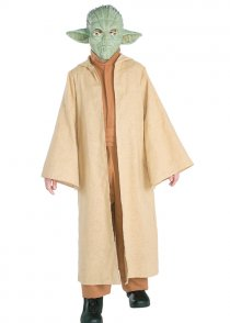 Childs Size Star Wars Deluxe Yoda Costume