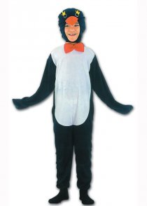 Childs Size Penguin Fancy Dress Costume