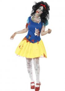 Womens Zombie Snow Fright Costume