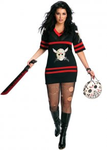 Womens Plus Size Jason Miss Voorhees Costume