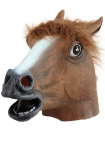 Deluxe Brown Horse Mask