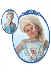 Childrens Disney Frozen Elsa Wig