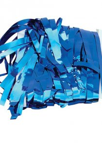 Blue Tinsel Curtain Party Decoration