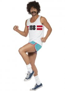 Adult Size 118 118 Runner Mens Costume