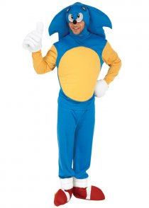 Adult Size Sonic The Hedgehog Costume