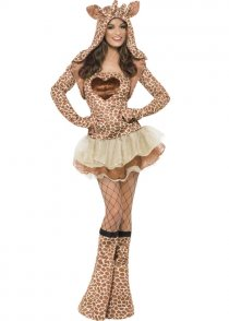 Adult Ladies Sexy Giraffe Costume