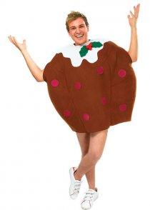 Adult Size Christmas Pudding Costume
