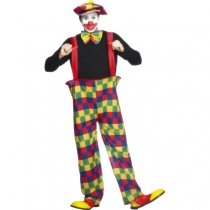 Hooped Clown Costume