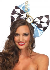 Alice In Wonderland Style Large Hair Bow