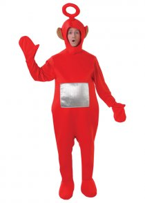Adult Red Teletubbies Po Costume