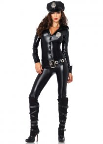 Womens Police Officer Payne Cop Costume