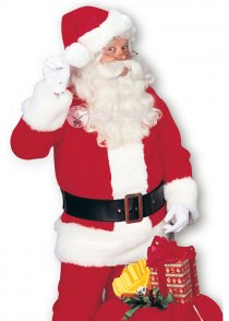 Adult Deluxe Red Premier Santa Suit