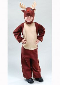 Childs Size Christmas Reindeer Costume