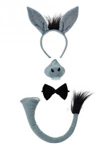 Nativity Grey Donkey Accessory Kit