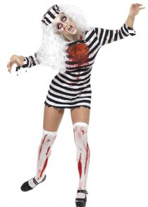 Womens Zombie Convict Costume
