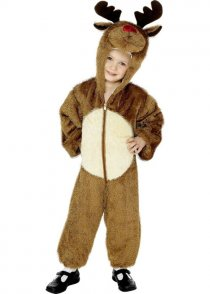 Child Size Reindeer Fancy Dress Costume