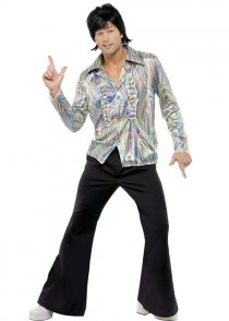 Mens 70's Retro Disco Dancer Costume