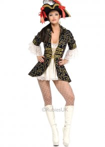 Ladies Sexy Pirate Queen Costume