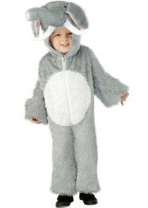 Childs Size Elephant Fancy Dress Costume
