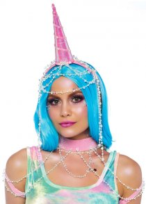 Pink Festival Unicorn Showgirl Accessory Kit