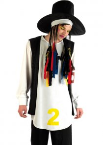 Adult Boy George Style 80's Pop Star Costume
