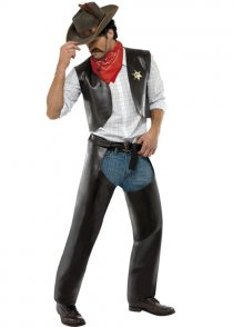 Adult Size The Village People Cowboy Costume