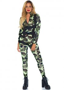 Womens Pretty Paratrooper Army Girl Costume