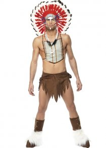 Adult Mens The Village People Indian Costume