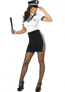 Adult Size Ladies Police Woman Cop Costume