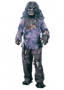 Childs Size Halloween Deluxe Zombie Costume