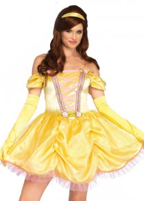 Womens Belle Style Enchanting Princess Costume