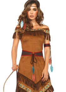 Womens Indian Native Princess Costume
