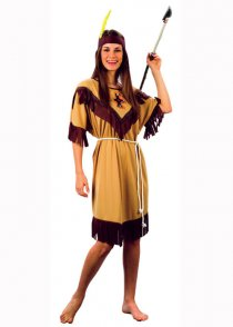 Adult Size Ladies Indian Lady Squaw Costume