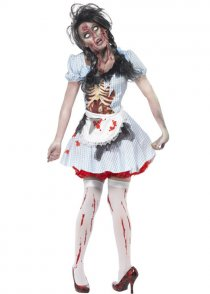Womens Zombie Countrygirl Costume