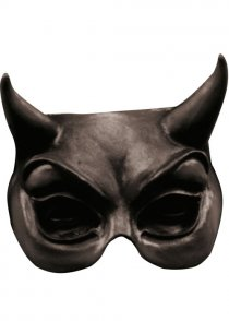 Black Devil Masquerade Eye Mask